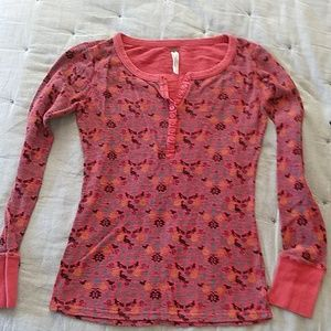 Free people button Henley m